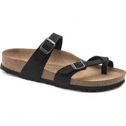 Birkenstock Womens Mayari Vegan Sandals - Black