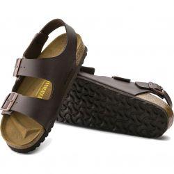 Birkenstock Mens Womens Milano Sandals Regular Fit - Dark Brown