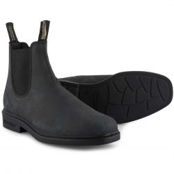 Blundstone Mens 1308 Chelsea Boots - Rustic Black