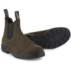 Blundstone Mens 1615 Chelsea Boots - Dark Olive