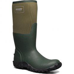 Bogs Mens Mesa Neoprene Wellington Boots - Olive