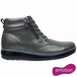 Joya Womens Wilma II Ankle Boots - Dark Grey