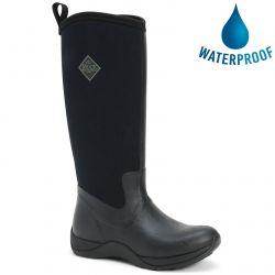 Muck Boots Womens Arctic Adventure Waterproof Boots - Black Black