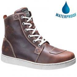 Harley Davidson Mens Steinman CE Waterproof Ankle Boots - Brown