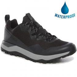 North Face Mens Activist FutureLight Waterproof Walking Trainers - TNF Black Zinc Grey