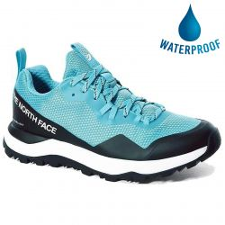 North Face Womens Activist FutureLight Waterproof Walking Trainers- Maui Blue TNF Black