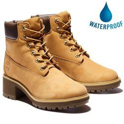 Timberland Womens Kinsley Waterproof Boots - Wheat A25BS