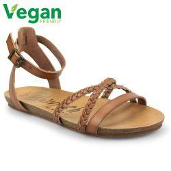 Blowfish Womens Galie B Vegan Sandals - Arabian Sand