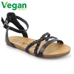 Blowfish Womens Galie B Vegan Sandals - Black