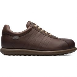 Camper Mens Pelotas Ariel 16002 Leather Shoes - Dark Brown 282
