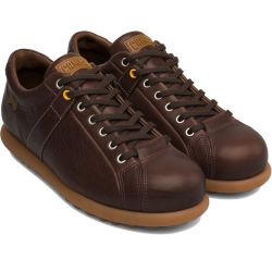 Camper Mens 17408-086 Pelotas Ariel Shoes - Medium Brown