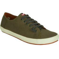 Camper Mens 18869 Peu Rambla Canvas Shoes - Green 062