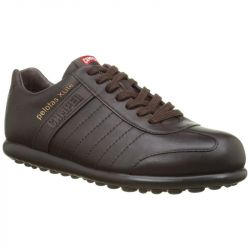 Camper Mens 18304 Pelotas X lite Lace Up Shoes - Dark Brown