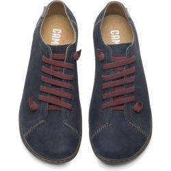 Camper Womens Peu Cami 20848 Leather Shoes - Dark Grey 196