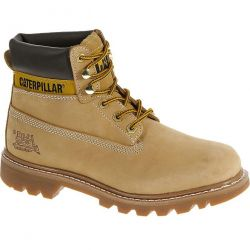 Caterpillar Mens Cat Colorado Wide Fit Leather Ankle Boots - Honey