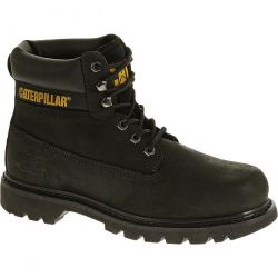 Caterpillar Womens Colorado Cat Wide Fit Ankle Boots - Black
