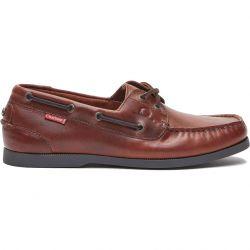 Chatham Mens Galley II  Sailing Boat Deck Shoes - Burgandy