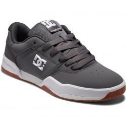 DC Mens Central Trainers - Grey White