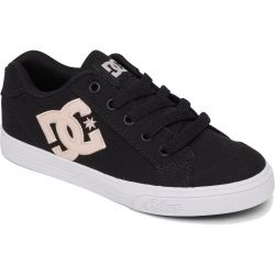 DC Kids Chelsea Trainers - Black Pink