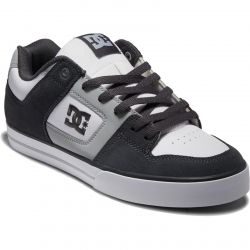 DC Mens Pure Trainers - Grey White Blue