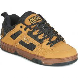 DVS Mens Comanche Skate Shoes - Chamois Black Gum Nubuck