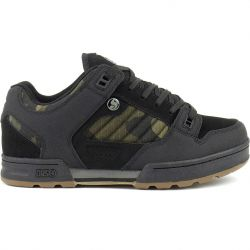 DVS Mens Militia Water Resistant Shoes - Black Camo Nubuck