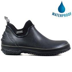 Bogs Mens Urban Farmer Waterproof Wellies - Black