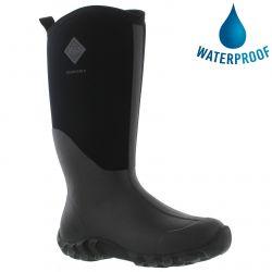 Muck Boots Mens Edgewater II Neoprene Wellies Rain Boots - Black