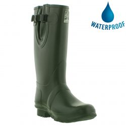 Woodland Mens Womens Neoprene Wellies Boots