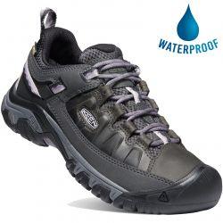 Keen Womens Targhee III WP Waterproof Walking Shoes - Black Thistle