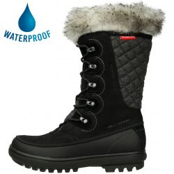 Helly Hansen Womens Garibaldi VL Waterproof Snow Boots - Jet Black