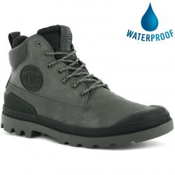 Palladium Mens Pampa SC Outsider Waterproof Chukka Boots - Fallen Rock
