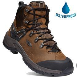 Keen Mens Wild Sky Waterproof Walking Boots - Dark Earth Black