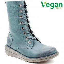 Heavenly Feet Womens Martina 2 Vegan Boots - New Ocean
