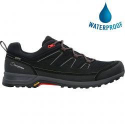 Berghaus Mens Explorer FT Active GTX Waterproof Walking Shoes - Black