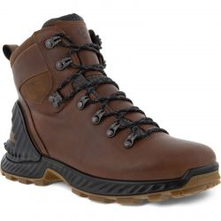 Ecco Shoes Mens Exohike Water Repellent Walking Boots - Cocoa Brown