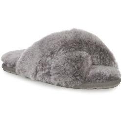 EMU Australia Womens Mayberry Sheepskin Slippers - Charcoal