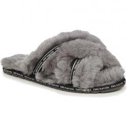 EMU Australia Womens Mayberry Own It Sheepskin Slippers - Charcoal