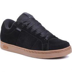 Etnies Mens Kingpin Skate Shoes - Black Dark Grey Gum