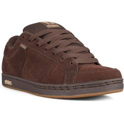 Etnies Mens Kingpin Skate Shoes Trainers - Brown Black Tan