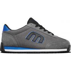 Etnies Mens Lo Cut II LS Skate Shoes - Grey Black Royal
