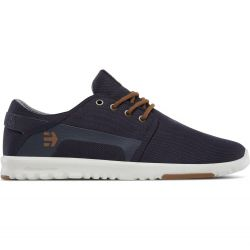 Etnies Mens Scout Vegan Skate Shoes - Navy Gold