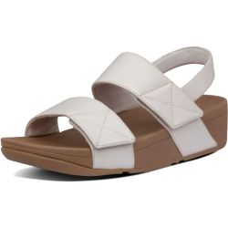 FitFlop Womens Mina Back Strap Adjustable Sandal - Stone