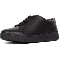 Fitflop Womens Rally Sneaker Trainers - All Black