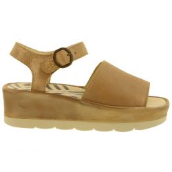 Fly London Womens Bano 0971 Chunky Platform Sandal - Luna