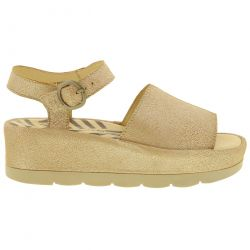 Fly London Womens Bano 0971 Chunky Platform Sandal - Pearl