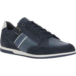 Geox Mens Renan D Breathable Trainers - Navy