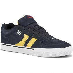 Globe Mens Encore 2 Skate Shoes - Navy Pale Yellow