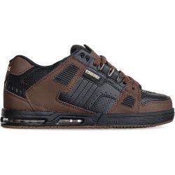 Globe Mens Sabre Skate Shoes - Black Brown