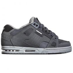 Globe Mens Sabre Skate Shoes - Dark Shadow Grey